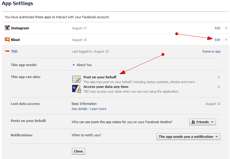 how to turn off edit history on facebook