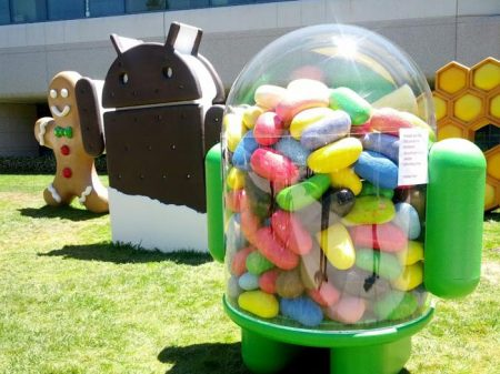 Android Jelly Bean, ICS