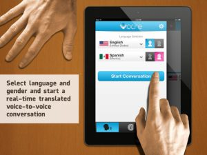 vocre translate for ipad