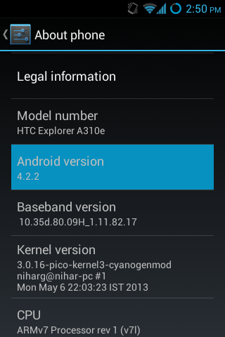 How to Update HTC Explorer A310e (Pico) to Android 4 0/4 1/4 2 (ICS