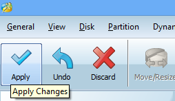 minitool apply changes