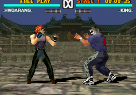 tekken 3 on playstation psx