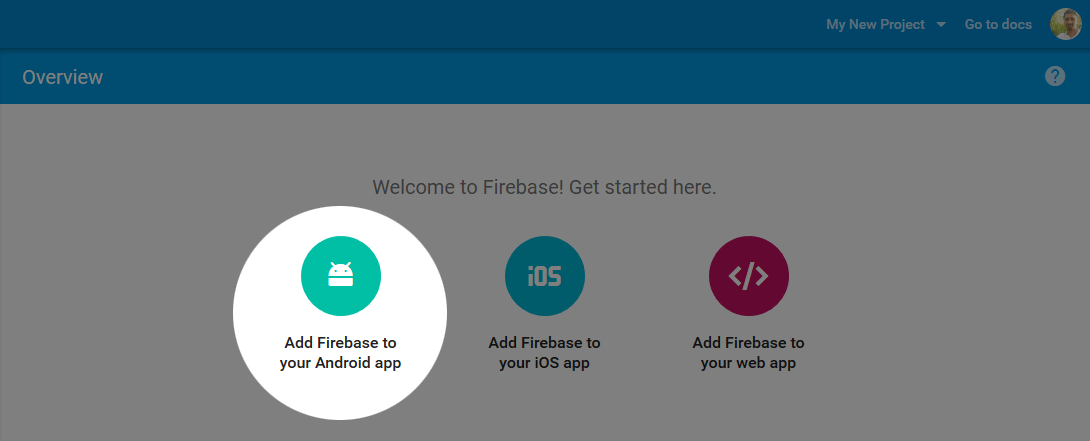 Add Firebase to Android App